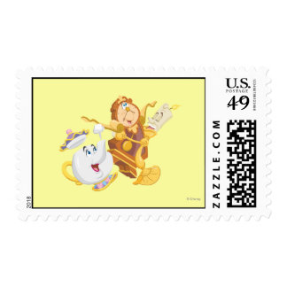 Mrs. Potts & Friends Postage Stamp
