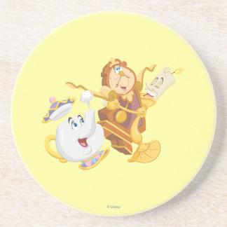 Mrs. Potts & Friends Sandstone Coaster