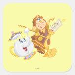 Mrs. Potts & Friends Square Sticker