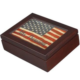mrs president Vintage Flag.jpg Memory Box