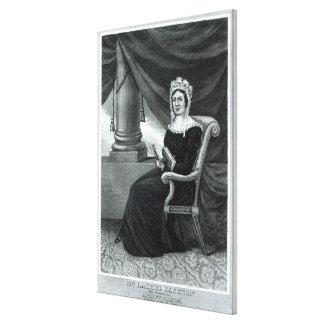 Mrs Rachel Jackson Canvas Print