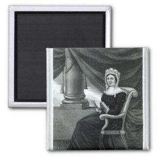 Mrs Rachel Jackson 2 Inch Square Magnet
