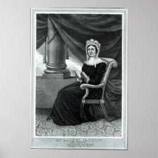Mrs Rachel Jackson Poster
