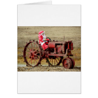 Mrs. Red Neck Santa Card