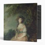 Mrs. Richard Brinsley Sheridan, c.1785-87 Vinyl Binder