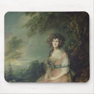 Mrs. Richard Brinsley Sheridan, c.1785-87 Mouse Pad