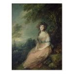 Mrs. Richard Brinsley Sheridan, c.1785-87 Postcard