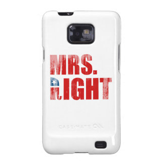 MRS. RIGHT Faded.png Samsung Galaxy S2 Covers