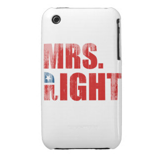 MRS. RIGHT iPhone 3 CASE