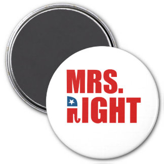MRS. RIGHT MAGNET