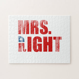 MRS RIGHT PUZZLES
