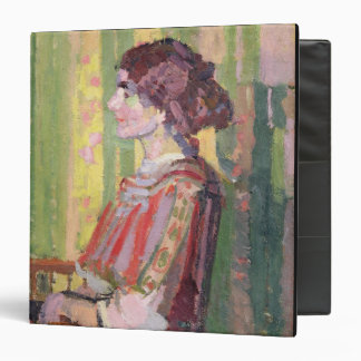 Mrs Robert Bevan, c.1913 (oil on canvas) 3 Ring Binder