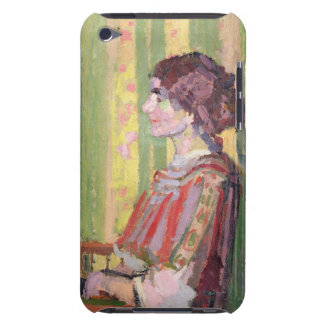 Mrs Robert Bevan, c.1913 (oil on canvas) Barely There iPod Cover