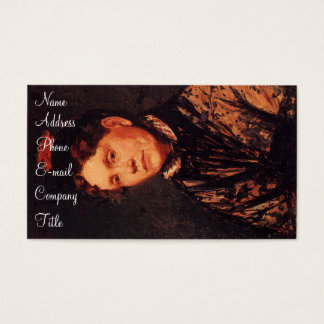 'Mrs. Robert Simpson Cassatt' Business Card