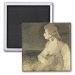 Mrs Robinson, c.1784 (oil on canvas) 2 Inch Square Magnet