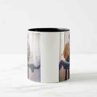 Mrs. Robotson Two-Tone Coffee Mug