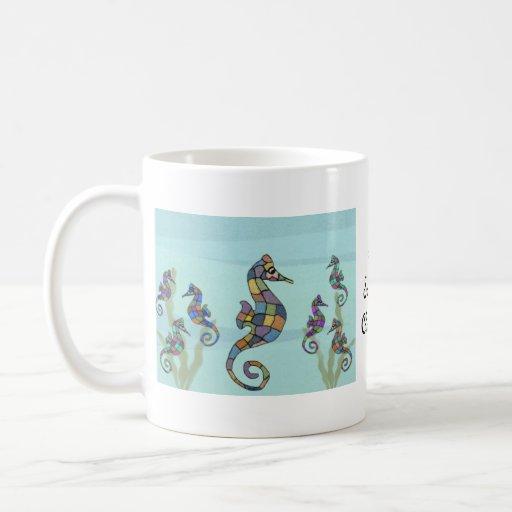 Mrs. Samuel's Classroom Seahorses Mug