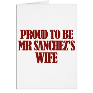 Mrs SANCHEZ designs Card