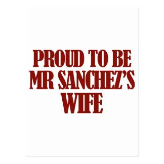 Mrs SANCHEZ designs Postcard