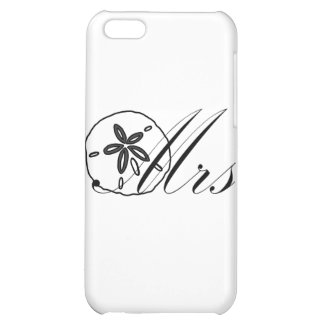 Mrs Sand Dollar Cover For iPhone 5C