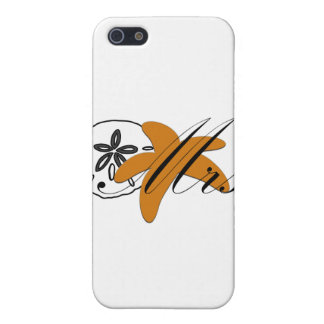 Mrs Sand Dollar Starfish Cover For iPhone SE/5/5s