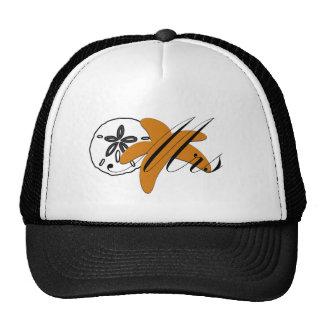 Mrs Sand Dollar Starfish Hats