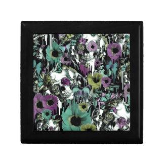 Mrs. Sandman, floral skull pattern Gift Box