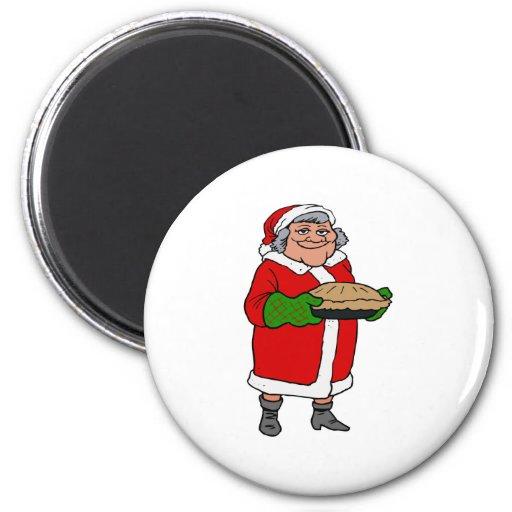 Mrs Santa Claus Fridge Magnet