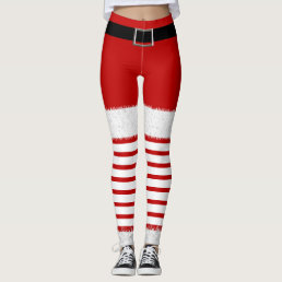 Mrs. Santa Claus Leggings