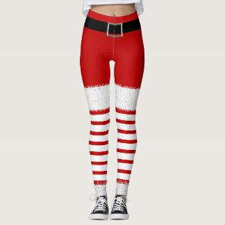 Mrs. Santa Claus Leggings