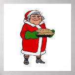 Mrs Santa Claus Posters