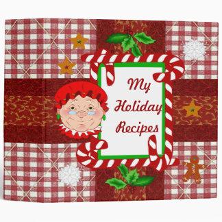 Mrs Santa Claus Recipe Binder