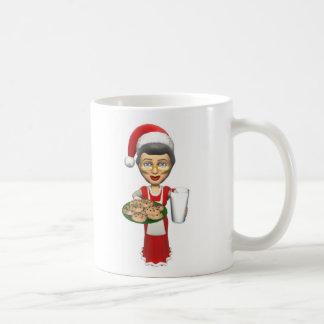 Mrs Santa,Cookies,Milk Cup
