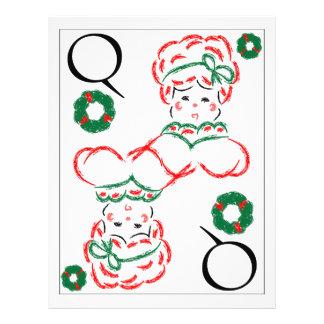 Mrs Santa - Queen of Wreaths Flyer
