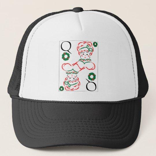 Mrs Santa - Queen of Wreaths Trucker Hat