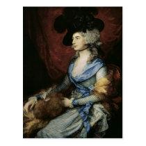 Mrs Sarah Siddons, the actress , 1785 Postcard