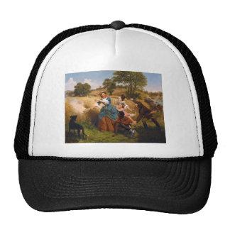 Mrs. Schuyler Burning Her Wheat Fields by Leutze Trucker Hat