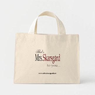 """""""Mrs. Skarsgard"""" Tote bag"""