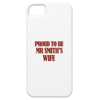 Mrs SMITH designs iPhone SE/5/5s Case