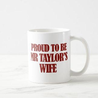 Mrs TAYLOR designs Coffee Mug