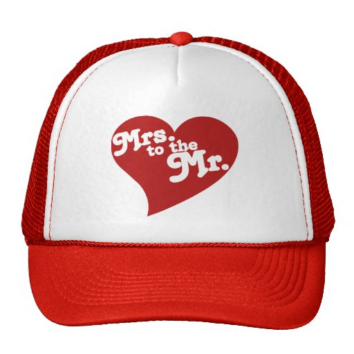 Mrs. to the Mr. Mesh Hats