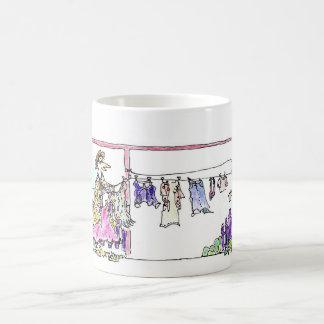 Mrs Twitter at Clothesline Coffee Mug