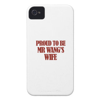 Mrs wang designs iPhone 4 Case-Mate case