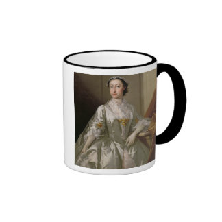 Mrs Wardle, 1742 (oil on canvas) Coffee Mugs