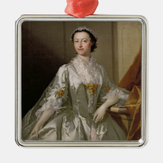 Mrs Wardle, 1742 (oil on canvas) Ornament