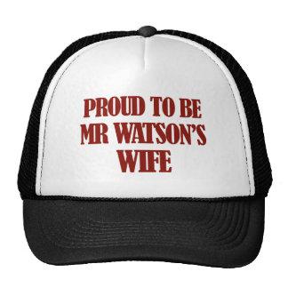 Mrs watson designs trucker hat