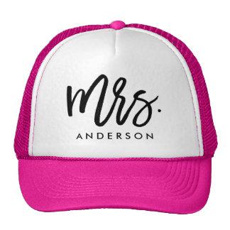 Mrs. Wedding Trucker Hat