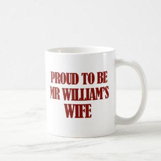 Mrs williams designs coffee mug