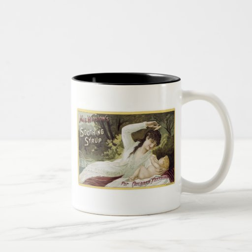 Mrs Winslows Soothing Syrup Coffee Mugs