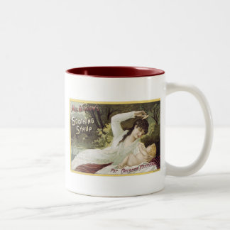 Mrs. Winslow's Soothing Syrup, For Children Two-Tone Coffee Mug